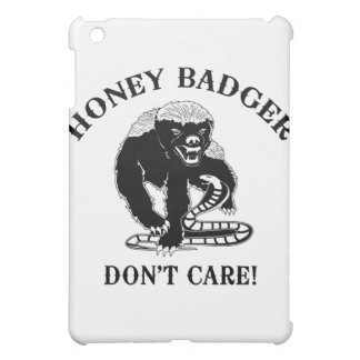 Honey Badger for light colored products iPad Mini Cases