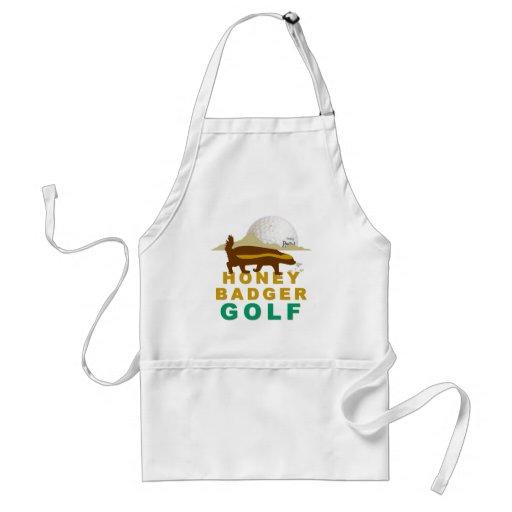 honey badger golf aprons