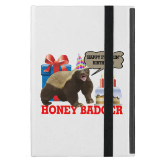 Honey Badger Happy Freakin' Birthday Covers For iPad Mini