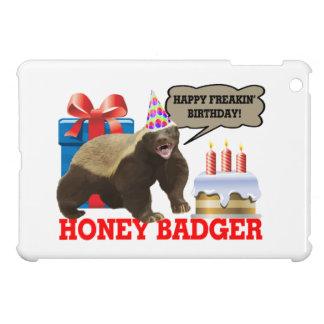Honey Badger Happy Freakin' Birthday iPad Mini Cover