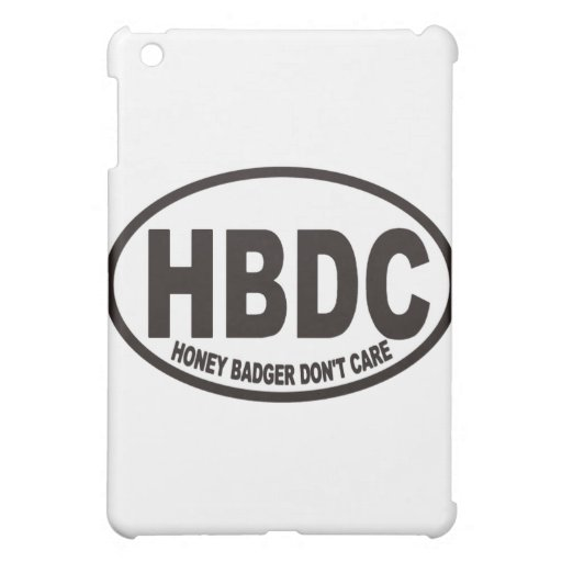 Honey Badger HBDC iPad Mini Covers