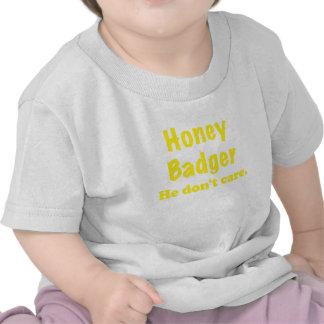 Honey Badger He Dont Care T Shirt
