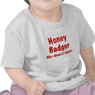 Honey Badger He Dont Care Tee Shirt