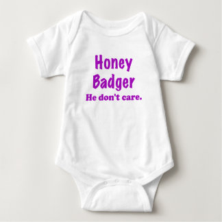 Honey Badger He Dont Care T-shirts