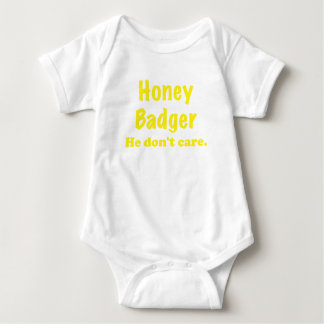 Honey Badger He Dont Care Tshirts