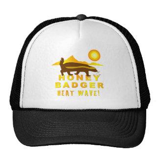 honey badger heat wave mesh hat
