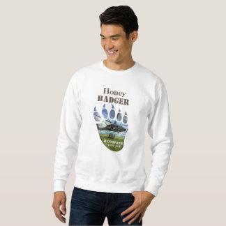 Honey Badger &  Helicopter Sweatshirt