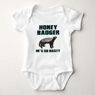 Honey Badger He's So Nasty Tees