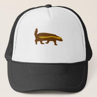 honey badger honey badger honey badger trucker hat