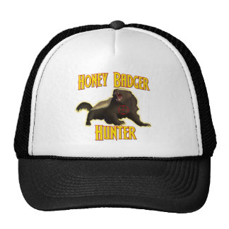 Honey Badger Hunter Cap