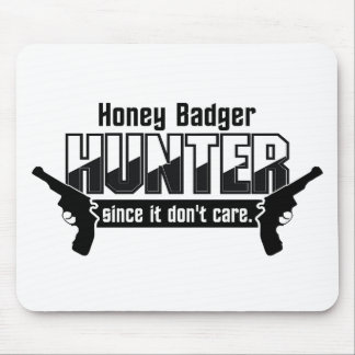 Honey Badger Hunter custom mousepad
