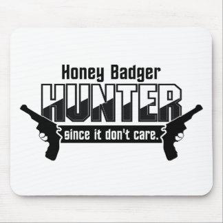 Honey Badger Hunter custom mousepad