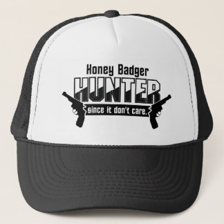 Honey Badger Hunter hat