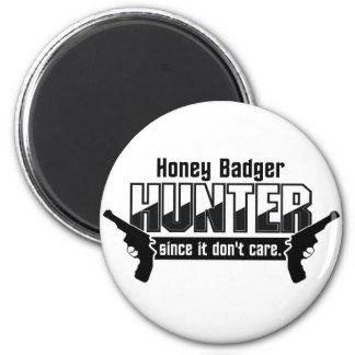 Honey Badger Hunter magnet