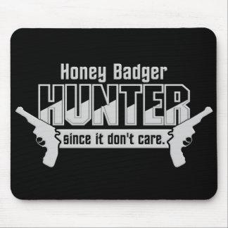 Honey Badger Hunter mousepad