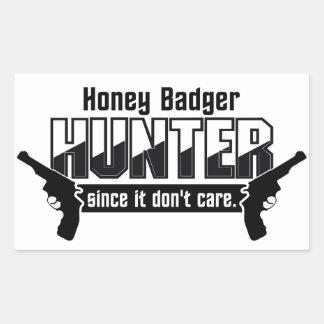 Honey Badger Hunter stickers