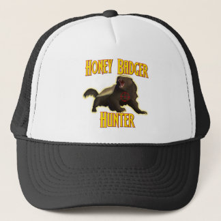 Honey Badger Hunter Trucker Hat