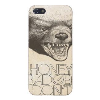 HONEY BADGER iPhone 5 CASES