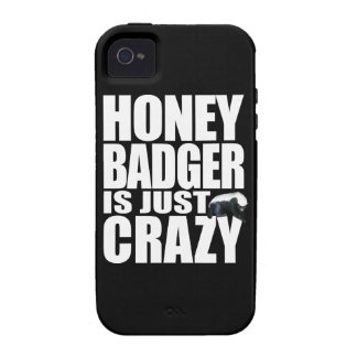 Honey Badger Is Just Crazy Case-Mate iPhone 4 Covers