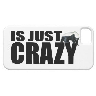 Honey Badger Is Just Crazy iPhone 5 Cases