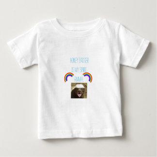 Honey badger is my spirit animal baby T-Shirt