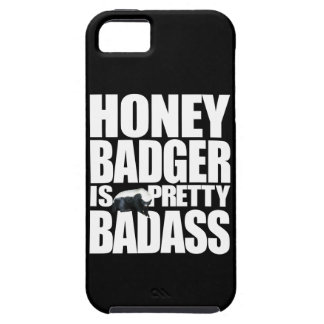 Honey Badger Is Pretty Badass iPhone 5 Cases