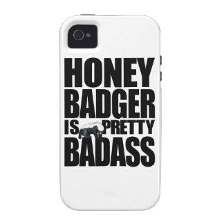 Honey Badger Is Pretty Badass iPhone 4/4S Case