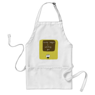 Honey badger is watching you standard apron