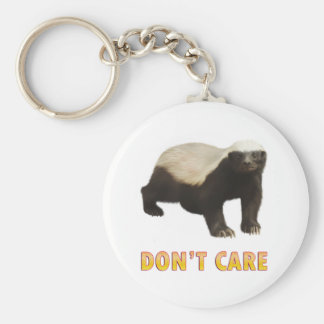 Honey Badger Key Ring