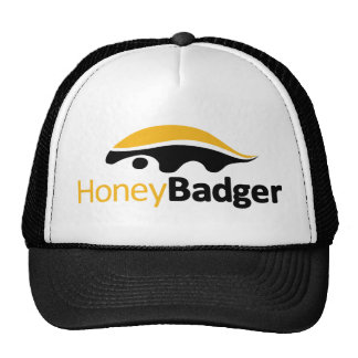 Honey Badger Logo Cap