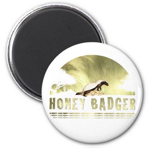 Honey Badger Magnet