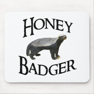 Honey Badger Mousepads