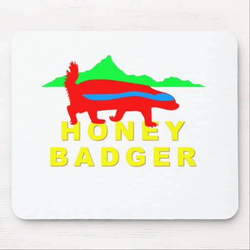 Honey Badger Mouse Pads