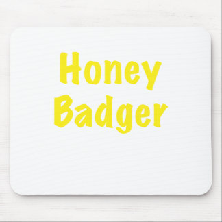 Honey Badger Mouse Pad