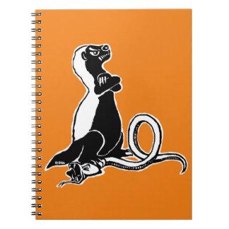 Honey badger notebooks
