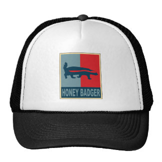 Honey Badger Obama Cap