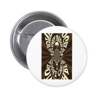 Honey Badger Pinback Buttons
