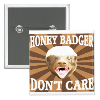 Honey Badger Pins