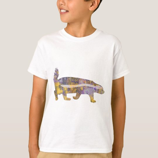 Honey Badger - Purple & Yellow Stone T-Shirt
