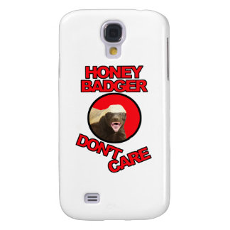 Honey Badger Red Galaxy S4 Case