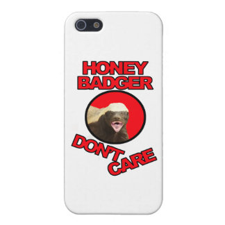 Honey Badger Red iPhone 5 Covers