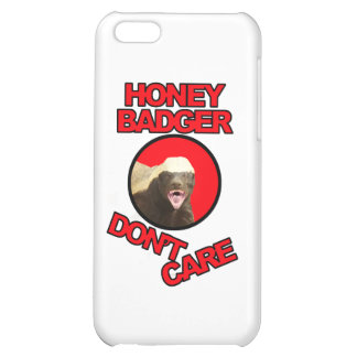 Honey Badger Red Case For iPhone 5C