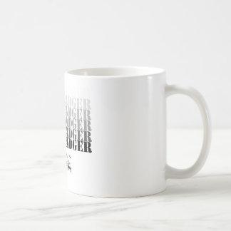 Honey Badger Rocks (blck) Basic White Mug