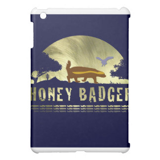 Honey Badger Silhouette Cover For The iPad Mini