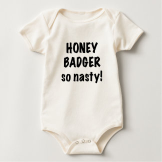 Honey Badger, So Nasty! Bodysuit