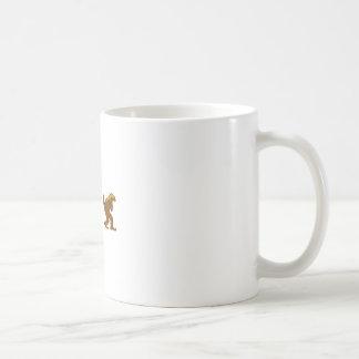 honey badger squatch squatchy badger basic white mug