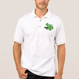 Honey badger st Patrick's day Polo Shirt