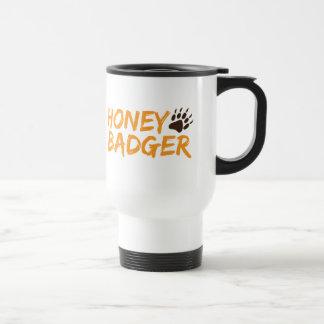 Honey Badger Stainless Steel Travel Mug