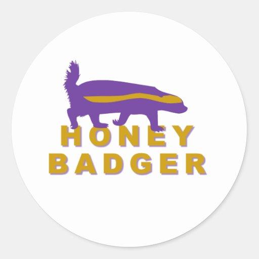 honey badger sticker