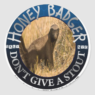 Honey Badger stickers